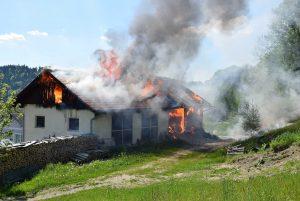 FF Nebelberg Brand Feuerwehreinsatz